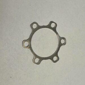 Front wheel disc brake spacer